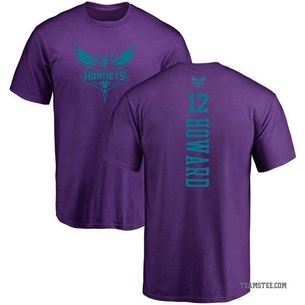 huge selection of d630f d0fc2 Men's Dwight Howard Charlotte Hornets Purple One Color Backer T-Shirt -  Teams Tee