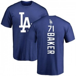 Men's Dylan Baker Los Angeles Dodgers Backer T-Shirt - Royal