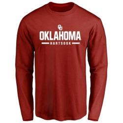 Men's Dylan Hartsook Oklahoma Sooners Sport Long-Sleeve T-Shirt - Cardinal