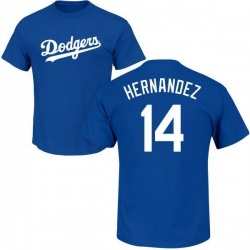 Men's Enrique Hernandez Los Angeles Dodgers Roster Name & Number T-Shirt - Royal