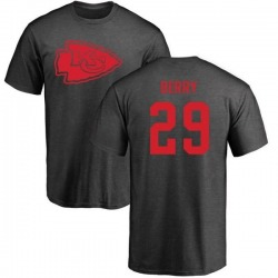 Men's Eric Berry Kansas City Chiefs One Color T-Shirt - Ash