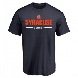 Men's Eric Dungey Syracuse Orange Sport Wordmark T-Shirt - Navy