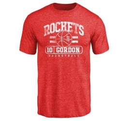 Men's Eric Gordon Houston Rockets Red Baseline Tri-Blend T-Shirt
