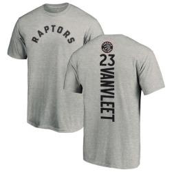 Men's Fred VanVleet Toronto Raptors Ash Backer T-Shirt