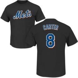 Men's Gary Carter New York Mets Roster Name & Number T-Shirt - Black