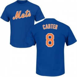 Men's Gary Carter New York Mets Roster Name & Number T-Shirt - Royal