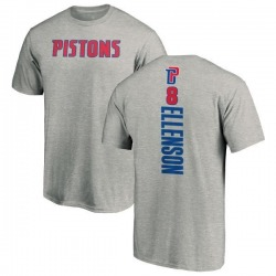 Men's Henry Ellenson Detroit Pistons Ash Backer T-Shirt