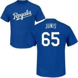Men's Jakob Junis Kansas City Royals Roster Name & Number T-Shirt - Royal