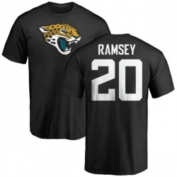Men's Jalen Ramsey Jacksonville Jaguars Name & Number Logo T-Shirt - Black