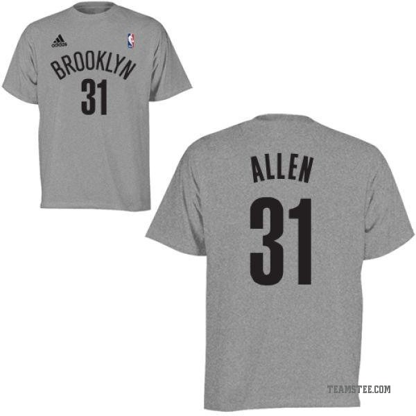 watch 38cd4 c3ec4 Men's Jarrett Allen Brooklyn Nets Gametime T-Shirt - Teams Tee