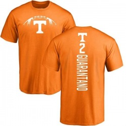 Men's Jarrett Guarantano Tennessee Volunteers Football Backer T-Shirt - Tennessee Orange
