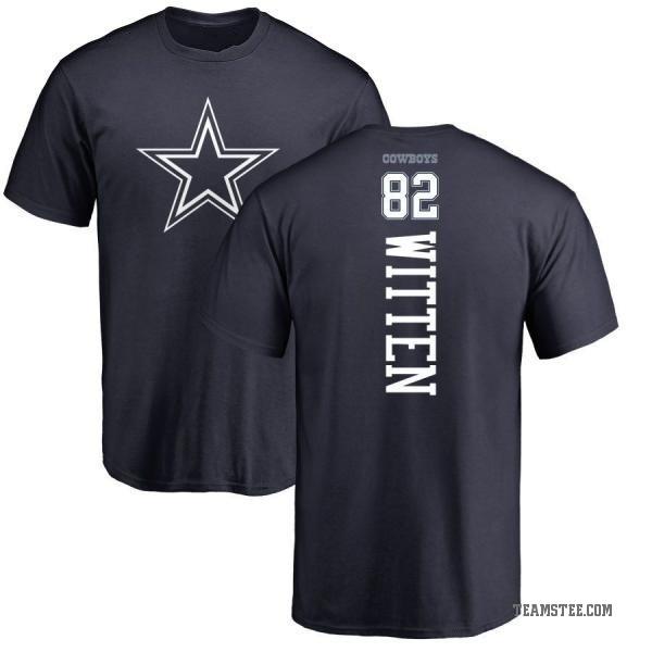 new arrival 16903 81251 Men's Jason Witten Dallas Cowboys Backer T-Shirt - Navy - Teams Tee
