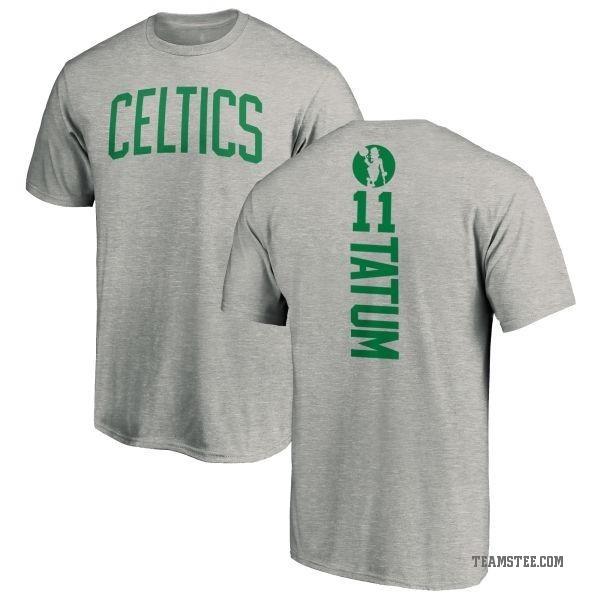 the latest 5367c 090b3 Men's Jayson Tatum Boston Celtics Ash Backer T-Shirt - Teams Tee