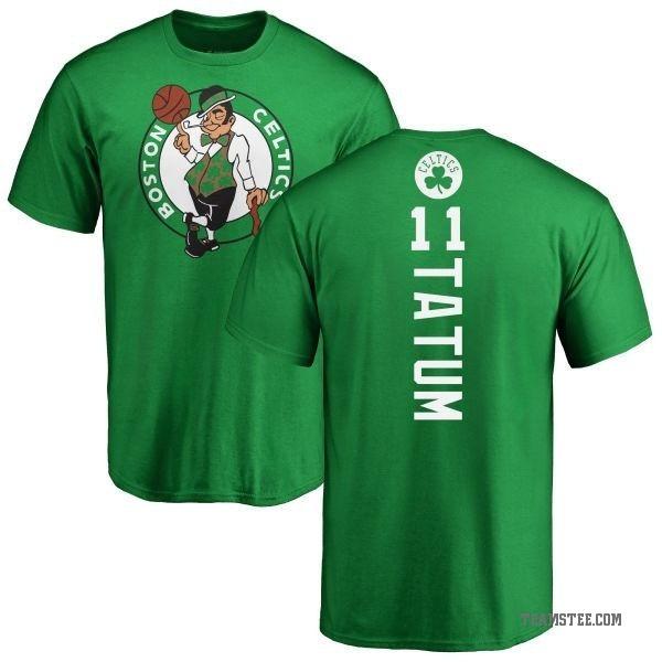 super popular 316af 04515 Men's Jayson Tatum Boston Celtics Kelly Green Backer T-Shirt - Teams Tee