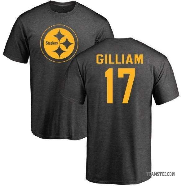 33dc115d0 Men s Joe Gilliam Pittsburgh Steelers One Color T-Shirt - Ash ...