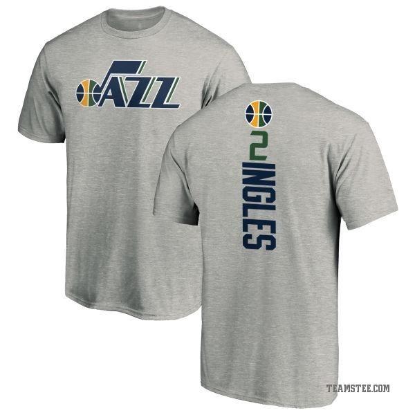 new concept 9d54d 85447 Men's Joe Ingles Utah Jazz Ash Backer T-Shirt - Teams Tee