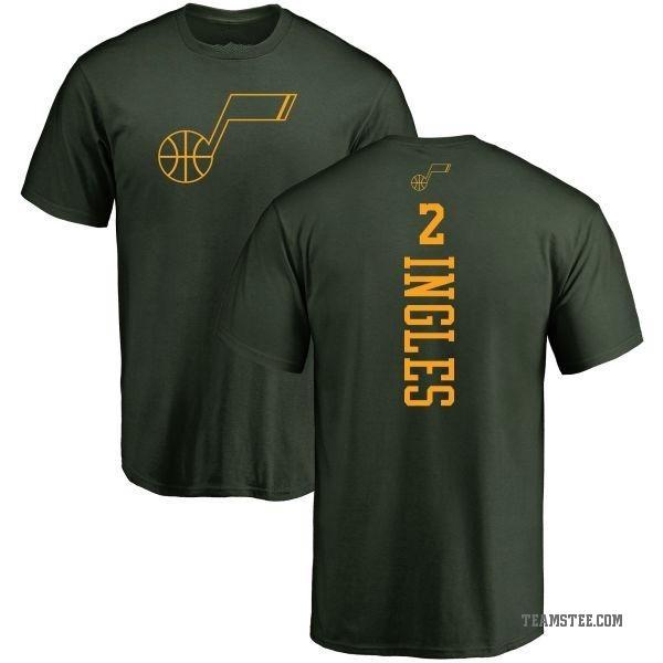 newest 49435 df33a Men's Joe Ingles Utah Jazz Green One Color Backer T-Shirt - Teams Tee