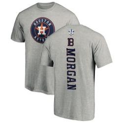 Men's Joe Morgan Houston Astros Backer T-Shirt - Ash
