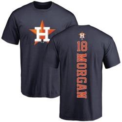 Men's Joe Morgan Houston Astros Backer T-Shirt - Navy