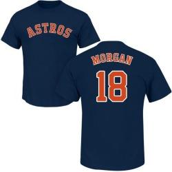 Men's Joe Morgan Houston Astros Roster Name & Number T-Shirt - Navy