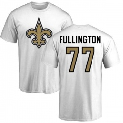 Men's John Fullington New Orleans Saints Name & Number Logo T-Shirt - White