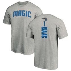 Men's Jonathan Isaac Orlando Magic Ash Backer T-Shirt