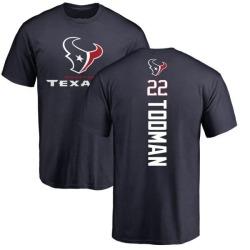 Men's Jordan Todman Houston Texans Backer T-Shirt - Navy