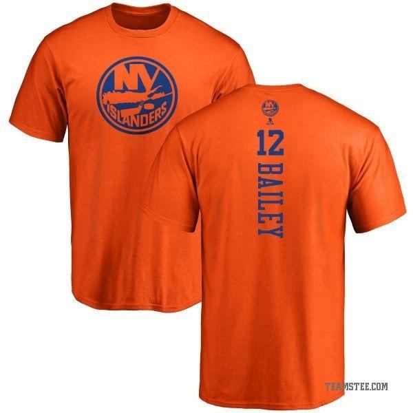 huge selection of cdb4f 00aeb Men's Josh Bailey New York Islanders One Color Backer T-Shirt - Orange -  Teams Tee