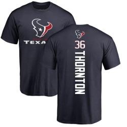 Men's Josh Thornton Houston Texans Backer T-Shirt - Navy