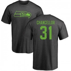 Men's Kam Chancellor Seattle Seahawks One Color T-Shirt - Ash