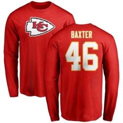 3173203f Women's Keith Baxter Kansas City Chiefs Backer Slim Fit Long Sleeve ...