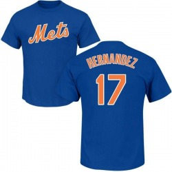 Men's Keith Hernandez New York Mets Roster Name & Number T-Shirt - Royal