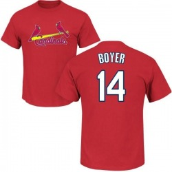 Men's Ken Boyer St. Louis Cardinals Roster Name & Number T-Shirt - Red