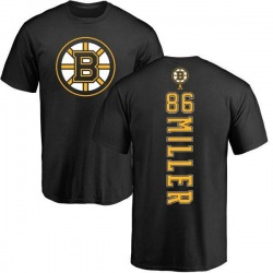 Men's Kevan Miller Boston Bruins Backer T-Shirt - Black