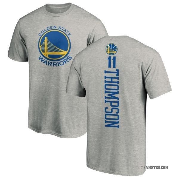 f054d9135854 Men s Klay Thompson Golden State Warriors Ash Backer T-Shirt - Teams Tee