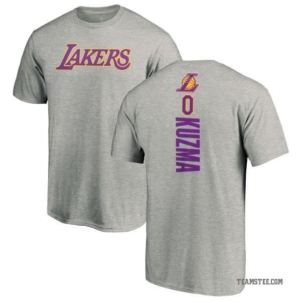 quality design 8554a 8f4c2 Men's Kyle Kuzma Los Angeles Lakers Ash Backer T-Shirt - Teams Tee