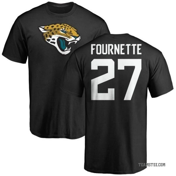 new concept 8e6bd ee3d5 Men's Leonard Fournette Jacksonville Jaguars Name & Number Logo T-Shirt -  Black - Teams Tee
