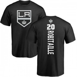 Men's Luc Robitaille Los Angeles Kings Backer T-Shirt - Black