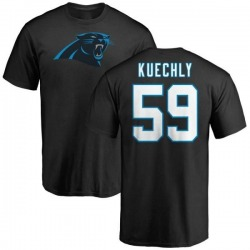 Men's Luke Kuechly Carolina Panthers Name & Number Logo T-Shirt - Black