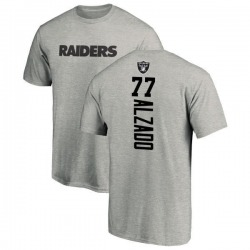 Men's Lyle Alzado Oakland Raiders Backer T-Shirt - Ash