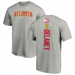 Men's Malcolm Delaney Atlanta Hawks Ash Backer T-Shirt