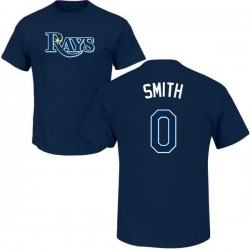 Men's Mallex Smith Tampa Bay Rays Roster Name & Number T-Shirt - Navy