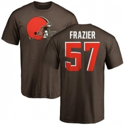 Men's Marcell Frazier Cleveland Browns Name & Number Logo T-Shirt - Brown
