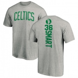 Men's Marcus Smart Boston Celtics Ash Backer T-Shirt
