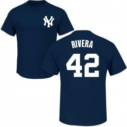 Men's Mariano Rivera New York Yankees Roster Name & Number T-Shirt - Navy
