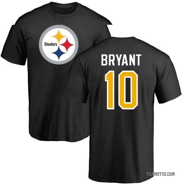 new products 04fce 3ecf7 Men's Martavis Bryant Pittsburgh Steelers Name & Number Logo T-Shirt -  Black - Teams Tee