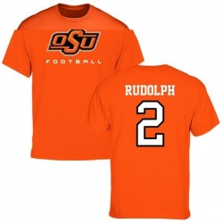 Men's Mason Rudolph Oklahoma State Cowboys Football T-Shirt - Orange