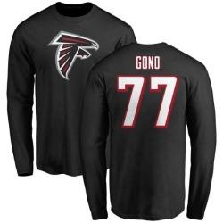quality design 7b55f f0e67 Men's Matt Gono Atlanta Falcons Name & Number Logo T-Shirt - Red