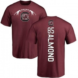 Men's Michael Almond South Carolina Gamecocks Football Backer T-Shirt - Maroon