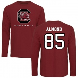 Men's Michael Almond South Carolina Gamecocks Football Long Sleeve T-Shirt - Maroon